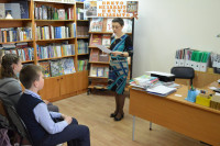 Библиотекарь Наталья Анатольевна